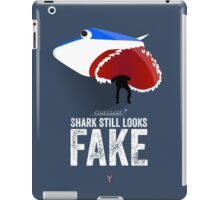 Cinema Obscura Series - Back to the future - Jaws Shark iPad Case/Skin