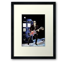 Doctor Rocker Framed Print