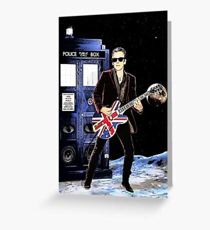Doctor Rocker Greeting Card