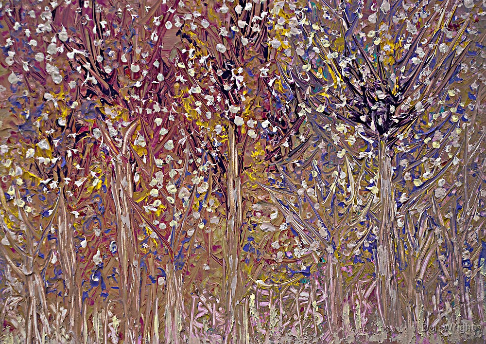 Springtime Painting by Don Wright