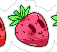 Strawberry Love Sticker