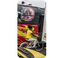 Sandwiched in Traffic in Cartagena, Colombia iPhone Case/Skin