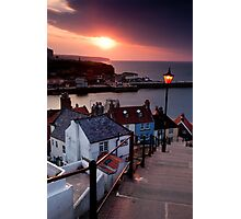 The 199 Steps, Whitby Photographic Print