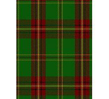 00384 Beard Family Portrait/Artifact Tartan  Photographic Print