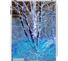 Blue Leaves iPad Case/Skin