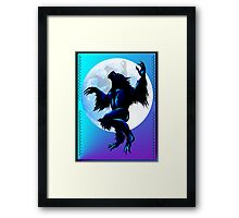 Werewolf On The Loose Framed Print