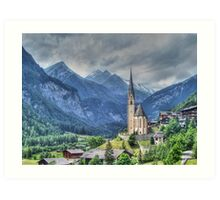 Heiligenblut (Holy Blood) Art Print