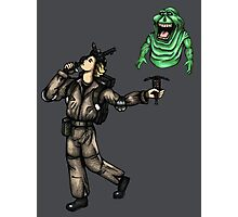 The Ghostbusters Fool Tarot Photographic Print