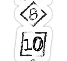RPG Dices Sticker