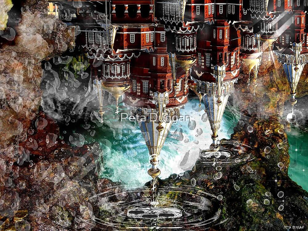 """House dripping in memory-paradox"" by Peta Duggan"