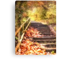 The Autumn Years Canvas Print