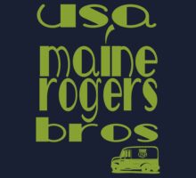 usa maine tshirt by rogers bros by usamaine