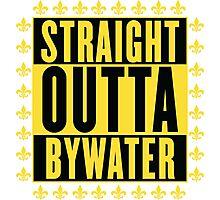 Straight Outta Bywater (Fleur de Lis Version) Photographic Print