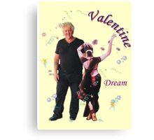 Valentine Dream with Ange Canvas Print