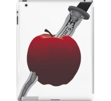 SwanQueen apple and dagger iPad Case/Skin
