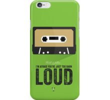 Cinema Obscura Series - Back to the future - The Pinheads iPhone Case/Skin