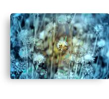 Botanical Abstract in Pastel II Canvas Print