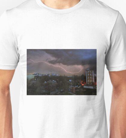 Bolt over Tashkent Unisex T-Shirt