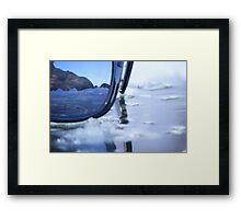 ray ban  Framed Print