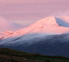 Pre Dawn colours over Meall Nan Tarmachan (viewd 476 times at 11/01/13) by Cliff Williams