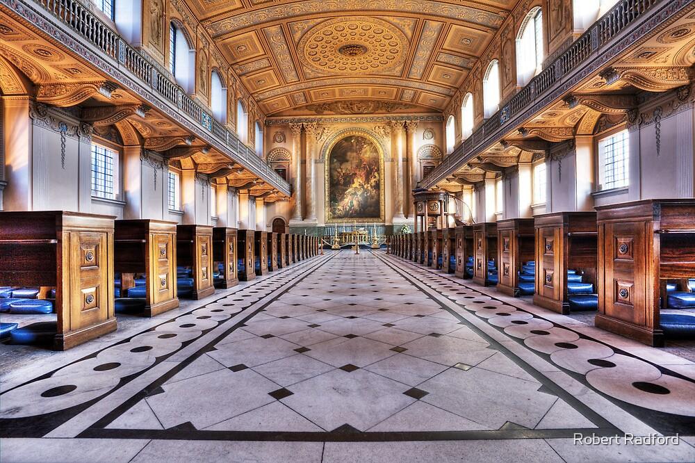 Greenwich Royal Naval College Chapel by Robert Radford