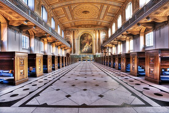 Greenwich Royal Naval College Chapel by Robert Radford
