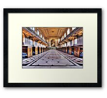Greenwich Royal Naval College Chapel Framed Print