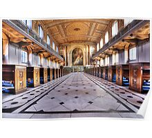 Greenwich Royal Naval College Chapel Poster