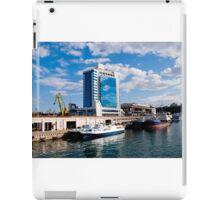 Seaport and Hotel in Odessa, Ukraine iPad Case/Skin
