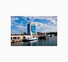 Seaport and Hotel in Odessa, Ukraine Unisex T-Shirt