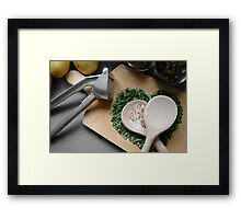 Herbs and spices 3 Framed Print