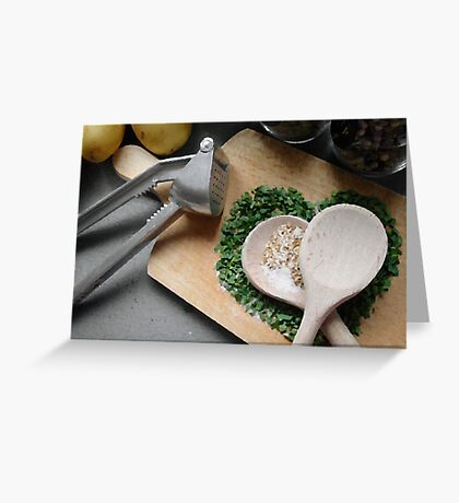 Herbs and spices 3 Greeting Card