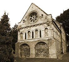 St Nicholas Church, Barfreston  by Dave Godden