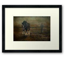 The Land Girl Framed Print