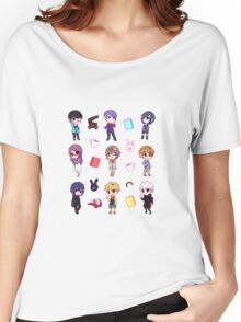Tokyo Ghoul Chibi Characters  Women's Relaxed Fit T-Shirt