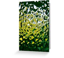 Textured glass Greeting Card