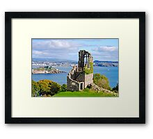 The Folly: Plymouth from Mount Edgcumbe Framed Print