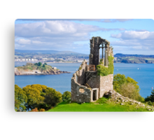 The Folly: Plymouth from Mount Edgcumbe Canvas Print