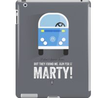 Cinema Obscura Series - Back to the future - libyans iPad Case/Skin