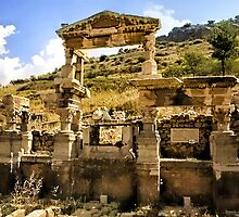 The Fountain Of Trajan Ephesus Turkey by ╰⊰✿ℒᵒᶹᵉ Bonita✿⊱╮ Lalonde✿⊱╮