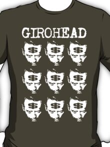 Girohead Revisited (with text) T-Shirt
