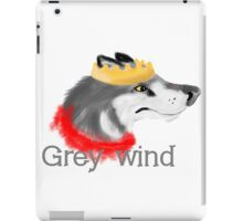Grey Wind iPad Case/Skin