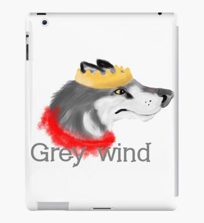 Grey Wind iPad Case/Skin