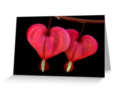2 of Hearts Greeting Card