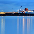 Hebridean Princess on a Calm Sea by RedMann