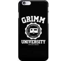Grimm University iPhone Case/Skin
