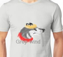 Grey Wind Unisex T-Shirt