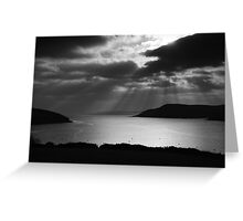 Oysterhaven Lightburst Greeting Card