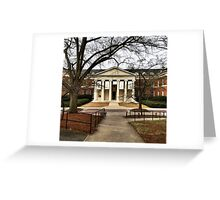 Rapport Building, University of Georgia Greeting Card