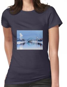 Clyde Reflections Womens Fitted T-Shirt